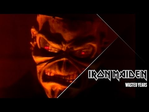 Iron Maiden – Wasted Years (Official Video)