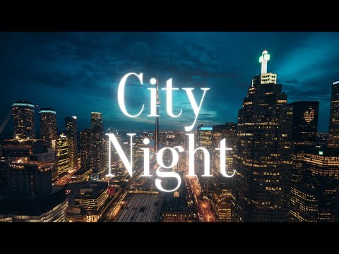City Night – Relaxing Video with Blues Instrumentals